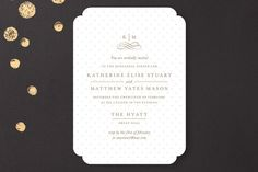 A Glamorous Affair Rehearsal Dinner Invitations by Kristen Smith at minted.com