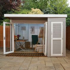 10'1 x 8'2 (3.08x2.49m) Windsor Gardenroom Shed Combi