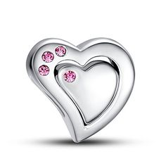 "#Glamulet Puzzle Heart CharmSwarovski❤Use Coupon code "" PIN5 "" ,Get 5% OFF on all products on www.glamulet.com"