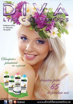 Diva Life Cosmetics catalog Primavara 2014 cu oferte valabile in perioada 21 Februarie - 30 Aprilie 2014! Oferte speciale in catalogul de primavara Diva  #cosmetics #cosmetics2014 #divalifecosmetics #beauty