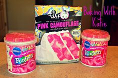 PINK CAMOUFLAGE CAKE MIX ~CUPCAKES~ Experiment ~ Duff Goldman from Charm City Cakes