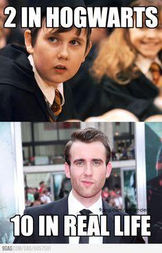 Neville must feel great. harry potter