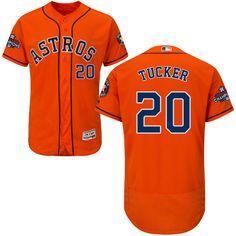 b6bc7cdd211 Men's Houston Astros Craig Biggio Orange Alternate 2017 World Series Patch  Majestic Flex Base MLB Jersey