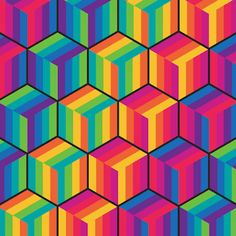 Florian de Looij is a Dutch visual artist whose masterful GIF art is made of minimalist renderings of shapes in repeating motion. Hypnotizing in their simplicity, the GIFs range from swirling vortexes of black and white patterns to rainbow-colored shapes spinning and sliding in constant loops. Some of the loops have quite a long running time, which makes it hard to tell where things end and begin again. Florian's GIF curiosities are visually stimulating in their straightforward but cohere...