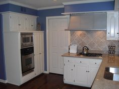 Gray Kitchen Walls With Cherry Cabinets and gray kitchen walls with cherry cabinets