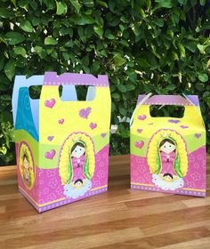Virgencita Treat box - candy box - favor box