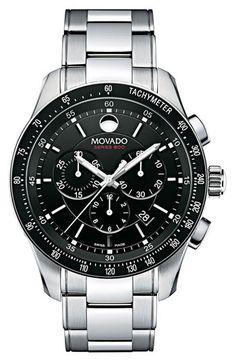 Movado 'Series 800' Chronograph Bracelet Watch | Nordstrom