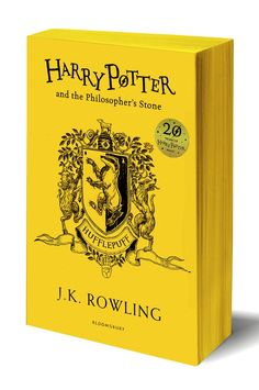 New Harry Potter Edition With Hogwarts Colors #hufflepuff
