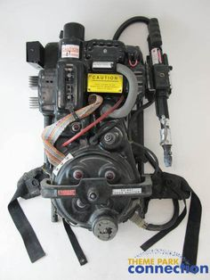 Prop Proton Pack from Ghostbusters Universal Studios Spooktacular Show