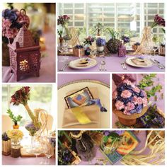 Styling Lookbook: Rustic Magic. One of the hottest colors for 2013 is African Violet. The pastel hue lends an enchanting touch that's ideal for a wedding with a countryside feel. | Styling by Royal Flower Shoppe | www.BridalBook.ph