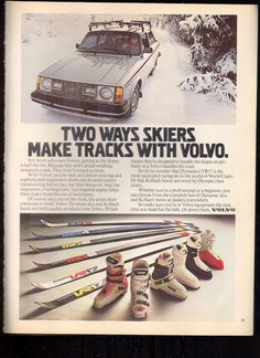 Volvo 240 GT ad