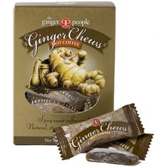 Hot Coffee Ginger Chews Box
