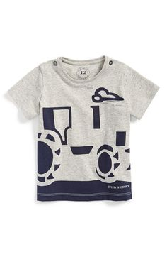 Burberry+Graphic+Cotton+T-Shirt+(Toddler+Boys)+available+at+#Nordstrom