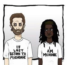Rick & Michonne // The Walking Dead