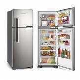 Geladeira/Refrigerador 2 Portas Brastemp Clean Frost Free 352L BRM39ER Inox