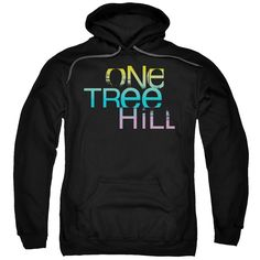 One Tree Hill Teen Drama Sports Tv Wb Color Blend Logo Adult Pull Over Hoodie