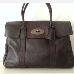 Tip: Mulberry Shoulder Bag (Dark Brown)