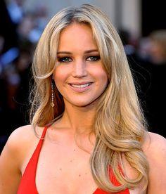 Jennifer Lawrence #hair #oscars