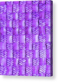 Weaving Throw Pillow featuring the photograph Weaving Flax - Lilac Haze by Wairua o te Moana Canvas Art, Canvas Prints, Thing 1, Acrylic Sheets, Pillow Sale, Moana, Canvas Material, Clear Acrylic, High Gloss