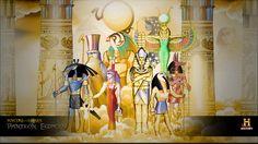Panteón Egipcion - Portal de los Dioses.