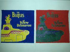 Beatles - cores primárias e secundárias