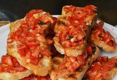 bruschetta al pomodoro #bread #tomato #ricettedisardegna #cucina #sarda #sardinia #recipe