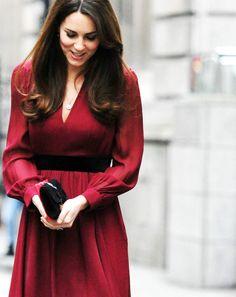 HRH Kate Middleton. Image found on Wear Pink & Make Boys Wink