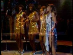 Proud Mary, by Ike & Tina Turner, live from The Midnight Special, 1974 (beautiful back then and still now!)