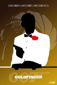 James Bond 007 - Poster Special Edition - Goldfinger