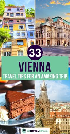 33 Vienna Travel Tips for an Amazing Trip. If you love exploring cities offering glamorous cultural events, unique traditions, and delectable cuisine, this guide with 33 Vienna travel tips will help you enjoy The City of Music in the best way possible. Click to learn more! Vienna Travel Guide | Vienna Travel Things to do | Vienna Travel Tips Visit Austria, Austria Travel, European Travel Tips, European Vacation, Vienna, European City Breaks, Road Trip Europe, Central Europe, Winter Travel