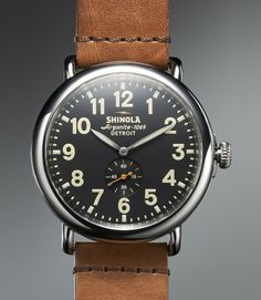 Shinola Runwell 47mm -  need to decide size and and color