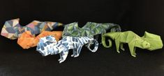 Shorts Tutorial, Origami Animals, Colorful Animals, Workshop, Delicate, Logos, Projects, Log Projects, Atelier