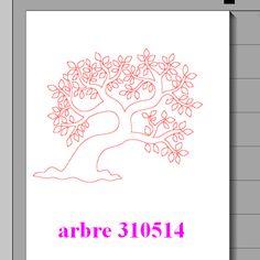 Fichier sst ** Arbre ** pour silhouette cameo - scrapbooking carterie silhouette cameo tuto astuce scrap image tube numérique creation