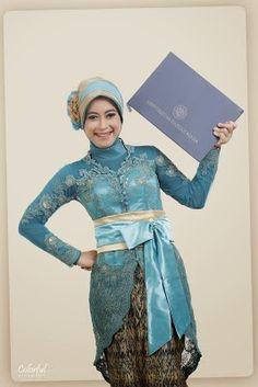 model kebaya wisuda jilbab modern