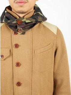 Hooded Jacket Camel