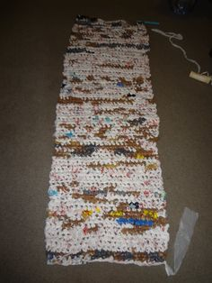 Crocheting For The Homeless : ... bag mat. New Life for Old Bags. Crochet sleeping mat for the homeless