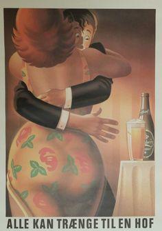Carlsberg Beer Ad by Joe Petagno II - Original Vintage Poster Vintage Ads, Etsy Vintage, Vintage Posters, Beer Brewery, Lager Beer, Advertising Slogans, Retro Advertising, Plus Size Art, Beer Poster