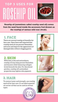 Rosehip oil is a powerhouse of benefits in the quest for beautiful, smooth, healthy skin. Learn why you should start using rosehip oil on a daily basis. Rosehip Oil For Skin, Rosehip Oil Benefits, Rosehip Seed Oil, Rosehip Oil Uses, Jojoba Oil Uses, Oil For Stretch Marks, Beauty Hacks For Teens, Acne Oil, Cellulite Scrub