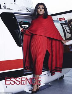 Taraji P. Henson Poses in Fabulous Fashion for ESSENCE Magazine