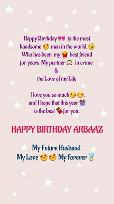 Happy Birthday Bestie Quotes, Short Birthday Wishes, Birthday Wishes For Lover, Boyfriend Birthday Quotes, Birthday Girl Quotes, Birthday Wishes And Images, Birthday Wish For Husband, Real Friendship Quotes, Sweet Love Quotes
