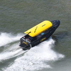 Geweldige taxi service over het water. Een fantastische manier om Rotterdam te ontdekken. | The Netherlands