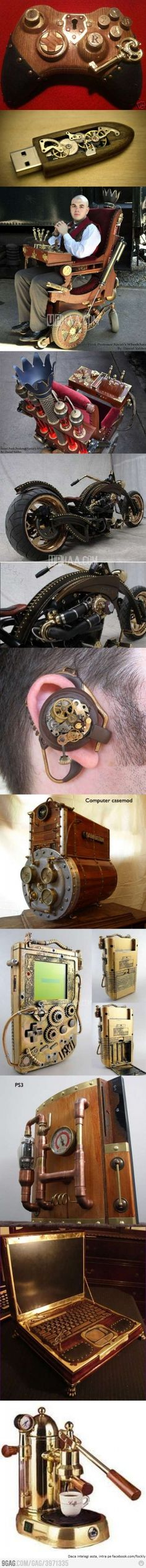 Cool Steampunk Inventions!