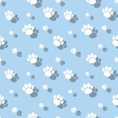 Paw Print Background, Background Patterns, Dog Paws, Pet Dogs, Pets, Animal Wallpaper, Mobile Wallpaper, Paw Patrol, Designs To Draw