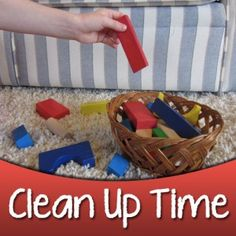 Want some help getting your kids to Clean-Up?