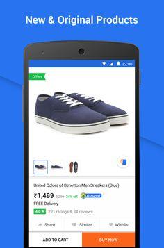 Flipkart Online Shopping- screenshot Ecommerce App, Google Play, Online Shopping, Ads, The Originals, Net Shopping
