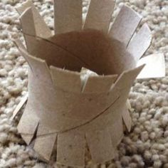 hedgehog toy toilet paper roll