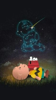 CHARLIE BROWN AND SNOOPY STAR INSTELLATIONS