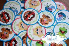The Muppets Stickers  Choose Your Character by FreshInkStationery, $3.00