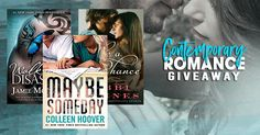 #Contemporary #Romance #Giveaway – #Win 3 #ContemporaryRomance Novels! #iBooks #kobo #FREEbooks #bookaddict