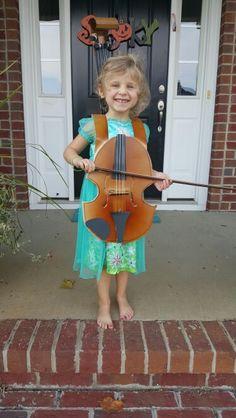 Violin Halloween Costume